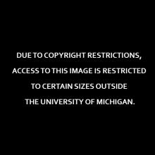 Due to copyright restrictions, access to this image is restricted to certain sizes outside the University of Michigan.